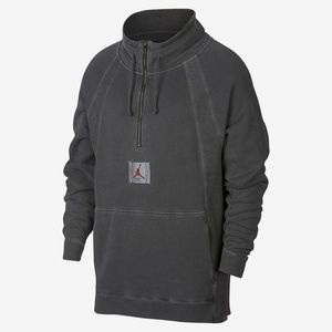Jordan JSW Wings Washed Pullover New Grey Red Men